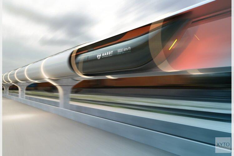 Provincie steunt ontwikkeling hyperloop