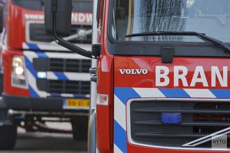 Grote brand verwoest woonboerderij in Zuidschermer