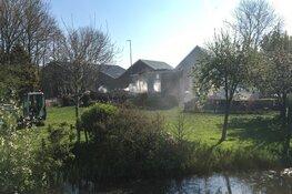 Niets meer over van woonboerderij na vernietigende brand Zuidschermer