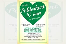 10 jarig jubileum stichting Polderhart
