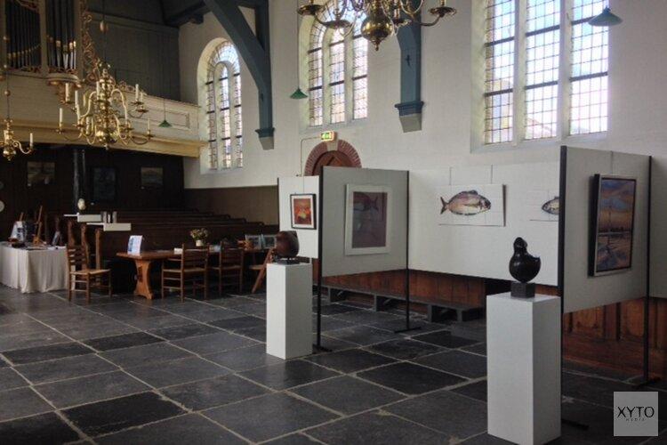 Expositie Frea May en Martin Griek t/m 28 juli in Dorpskerk Grootschermer