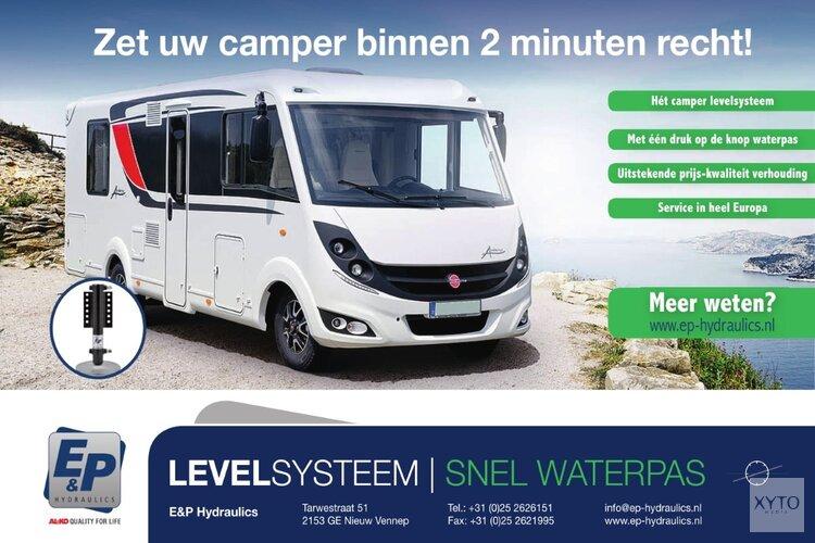 Uw camper in twee minuten waterpas bij E&P Hydraulics