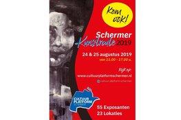 Schermer Kunstroute 24 en 25 augustus