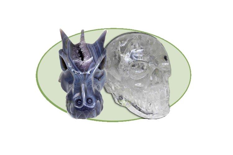Kristallen schedel Workshop