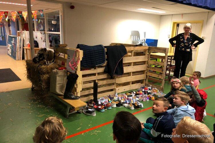 Schoen zetten op de Driessenschool