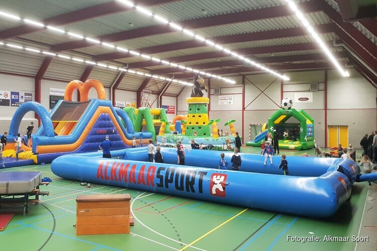 Groot sportspektakel in sporthal de Oosterven in de Kerstvakantie