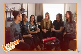 The African Sisters in halve finale The Voice Family
