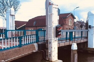 Hefbrug Oterleek komende week afgesloten