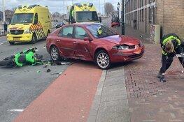Motorrijder overleden bij ongeval Kanaalkade