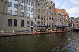 21 meter lang drijvend terras geopend in Alkmaar