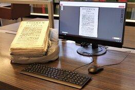 Thuis oude archieven bekijken: Regionaal Archief start gratis scanservice