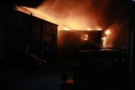 Opnieuw grote brand in Alkmaar, nu op bedrijventerrein Beverkoog