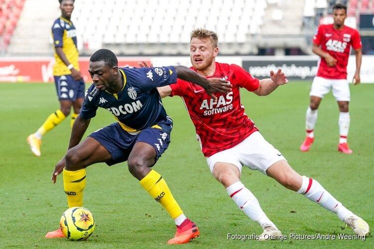 AZ niet opgewassen tegen AS Monaco