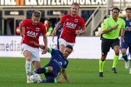 AZ niet langs PEC Zwolle na vroege rode kaart Stengs