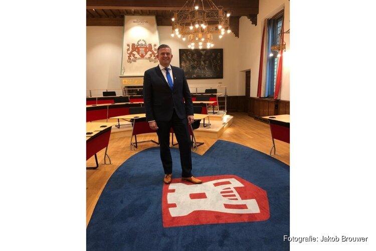 Burgemeester Roemer van start