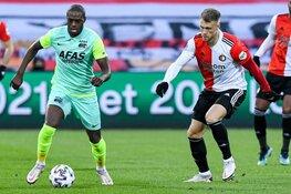 AZ wipt over Feyenoord heen na winst in De Kuip